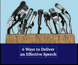 Deliver an Effective Speech
