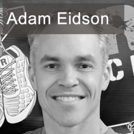 Adam Eidson, host of The Mentee Podcast