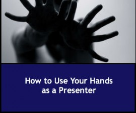 How to Use Your Hands as a Presenter
