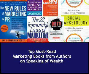 Top Must Read Marketing Books from Authors on Speaking of Wealth