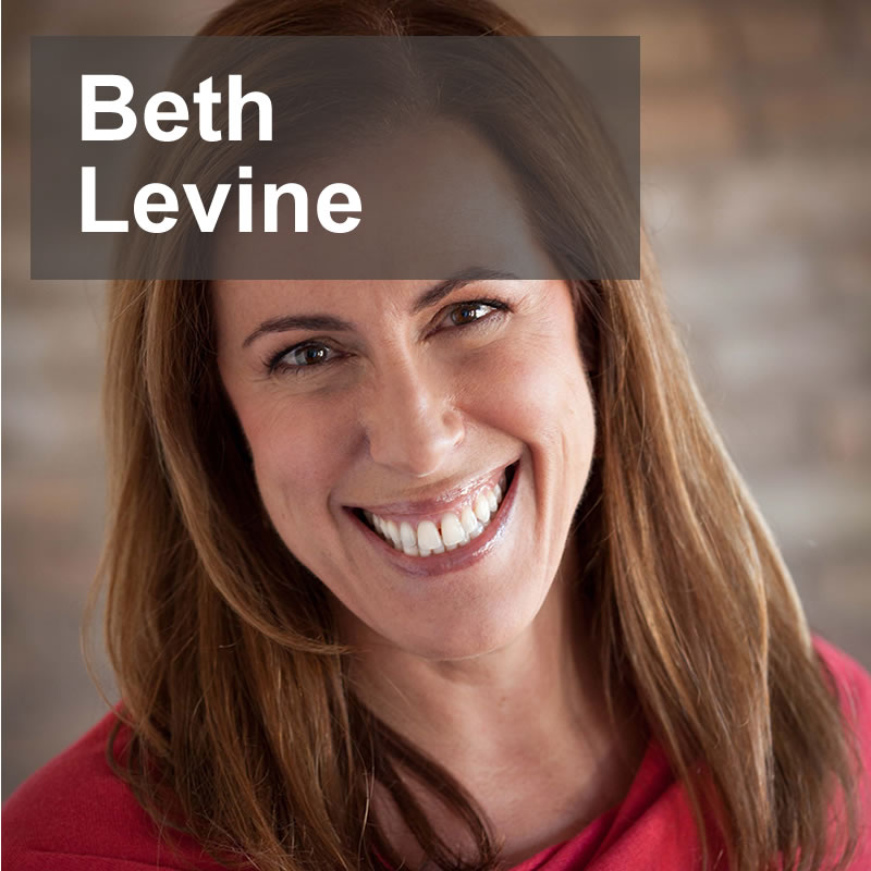 Beth Levine, author of Jock Talk, Five Communication Principles Exemplified by Legends of the Sports World