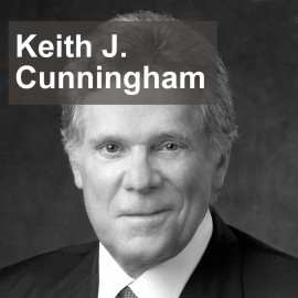 Keith J Cunningham, author of Keys to the Vault