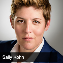 Jason Hartman talking with Sally Kohn, CNN political commentator, host of The State of the Resistance podcast and author of The Opposite of Hate: A Field Guide to Repairing Our Humanity
